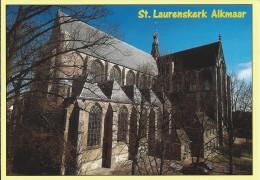 NL.- Alkmaar. Grote Of St. Laurenskerk.. 2 Scans - Alkmaar
