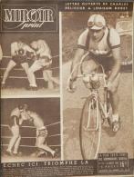 Miroir Sprint N°112 - Juillet 1948 - Lettre Ouverte De Charles Pélissier à Louison Bobet - Boxe - Libri, Riviste, Fumetti