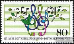 BRD (BR.Deutschland) 1319 (kompl.Ausgabe) Postfrisch 1987 Deutscher Sängerbund - [7] République Fédérale