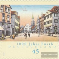 BRD (BR.Deutschland) 2584 (completa Edizione) Selbstklebende Problemaabe MNH 2007 Fuerth - [7] Repubblica Federale