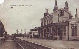 Surdon  180          La Gare. Les Quais - Non Classés
