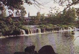 Putanges   H47            Pont Ecrepin. Chute D'eau De La Scierie. Eglise De Putanges - Putanges