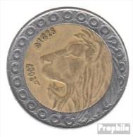 Algérie Km-no. : 125 2007 Très Déjà Bimetall Très Déjà 2007 20 Dinars Lion - Algeria