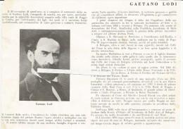 Crevalcore, Bologna, Firenze, 1930, Pittore Gaetano Lodi. - Documenti Storici