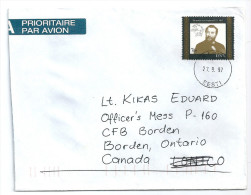 0776 Estonia Personality Postal Service UPU Telephone Addressed #1 - UPU (Wereldpostunie)
