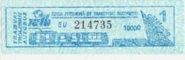 Romania - Bucharest bus ticket
