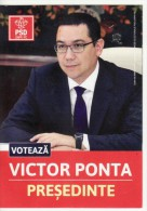 Romania - The electoral campaign, presidential candidate, incumbent Prime Minister of Romania
