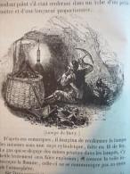 Lampe De Sureté Pour Les Mineurs , Lampe De Davy , Gravure De 1833 , Avec Texte - Historical Documents
