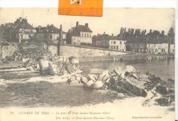 GUERRE De 1914 - Le Pont De Saint-Maxence , Bon état ( Voir Scan ) - Francia