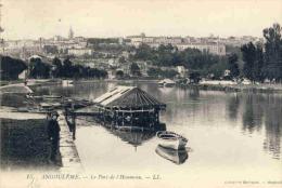 16Z02-69- ANGOULÊME - Lot 9 Cp: Préfecture, Train, église, Par, Théâtre, L'Houmeau, Le Port ... - Angouleme