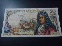 1963 FRANCE VERY RARE 50 FRANCS ( P 148a ) - 1962-1997 ''Francs''