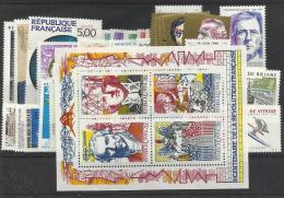 France Année Complète Neufs ** MNH  1990 - 1990-1999