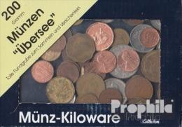 Tous Monde 200 Grammes Monnaies Au Poids  Uniquement D'outre-mer - Munten & Bankbiljetten
