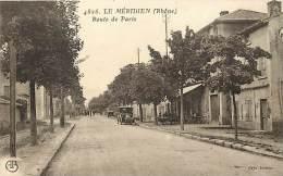 Rhone - Ref 616 - Le Meridien - Route De Paris - Petit Voiture - Voitures - Theme Automobile -   Carte Bon Etat - - France