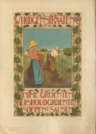 VAN CASPEL Johann - affiche en lithographie - Les maitres de l�affiche pl. 240 W. Hoogstraaten & Co fijne groenten
