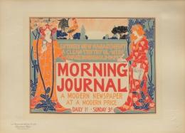 RHEAD Louis John - affiche en lithographie - Les maitres de l�affiche pl. 220 Morning Journal a modern newspaper