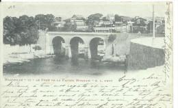 13_42 Marseille Le Pont De La Fausse Monnaie Belle Correspondance - Marseilles