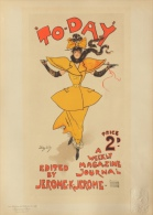 Hardy Dudley - affiche en lithographie - Les maitres de l�affiche pl. 216 To-day a weekly magazine journal London