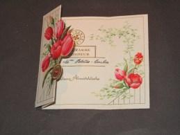 4 Telegrammes - 2 Télégrammes De Bonheur + 2 Télégrammes De Condoléances - Cartoline