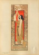 De Riquer Inglada Alejandro - affiche en lithographie - Les maitres de l�affiche pl. 204 Napoleon Barcelona