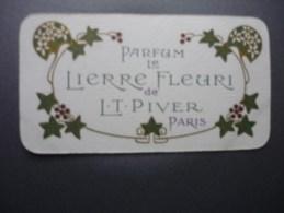Parfum Le Lierre Fleuri L.T.PIVER Paris  1909-1910