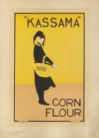 Berggarstaff Brothers - affiche en lithographie - Les maitres de l�affiche pl. 232Corn flour Kassama