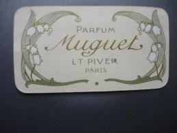 Parfum Muguet L.T.PIVER Paris  1909-1910