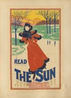 Rhead Louis - affiche en lithographie - Les maitres de l�affiche pl. 200 Read the Sun