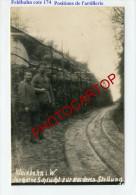 Ligne FELDBAHN -traversant Les Positions D'artillerie A La Cote 174-CARTE PHOTO Allemande-GUERRE 14-18-1 WK-Militaria-Fr - Oorlog 1914-18