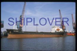 diapositive authentique cargo ROLLNES  (r�f. D3936) - ship 35 mm photo slide - bateau/ship/schiff