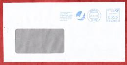 Brief, Francotyp-Postalia F722901, Forschungszentrum Juelich, 55 C, Berlin 2009 (74606) - Briefe U. Dokumente