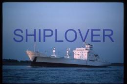 diapositive authentique cargo LANAI en 1986 (r�f. D3937) - ship 35 mm photo slide - bateau/ship/schiff