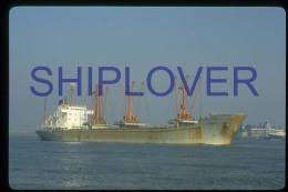 diapositive authentique cargo BAARN en 1985 (r�f. D3940) - ship 35 mm photo slide - bateau/ship/schiff