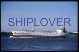 diapositive authentique cargo NORMANDIC en 1987 (r�f. D3947) - ship 35 mm photo slide - bateau/ship/schiff