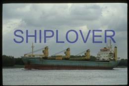 diapositive authentique cargo CARINA SMIT (r�f. D3950) - ship 35 mm photo slide - bateau/ship/schiff
