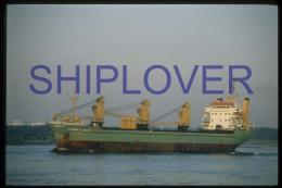 diapositive authentique cargo CAROLA SMITS (r�f. D3957) - ship 35 mm photo slide - bateau/ship/schiff