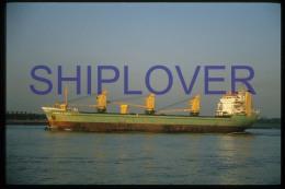 diapositive authentique cargo CAROLA SMITS (r�f. D3958) - ship 35 mm photo slide - bateau/ship/schiff
