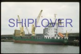 diapositive authentique cargo THOR AMALIE (r�f. D3965) - ship 35 mm photo slide - bateau/ship/schiff
