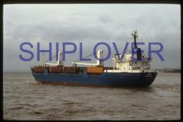 diapositive authentique cargo LAIMA (r�f. D3967) - ship 35 mm photo slide - bateau/ship/schiff