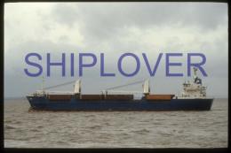diapositive authentique cargo LAIMA (r�f. D3968) - ship 35 mm photo slide - bateau/ship/schiff