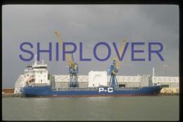 diapositive authentique cargo NESS (r�f. D3969) - ship 35 mm photo slide - bateau/ship/schiff