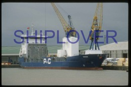 diapositive authentique cargo NESS (r�f. D3972) - ship 35 mm photo slide - bateau/ship/schiff