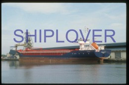 diapositive authentique cargo FRISIAN LADY (r�f. D3978) - ship 35 mm photo slide - bateau/ship/schiff