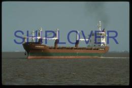 diapositive authentique cargo EGMONGRACHT (r�f. D3983) - ship 35 mm photo slide - bateau/ship/schiff