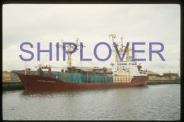 diapositive authentique cargo KONSTANTIN YUON (r�f. D3989) - ship 35 mm photo slide - bateau/ship/schiff