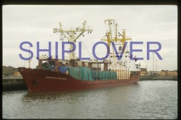 diapositive authentique cargo KONSTANTIN YUON (r�f. D3990) - ship 35 mm photo slide - bateau/ship/schiff