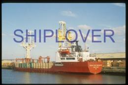 diapositive authentique cargo KONSTANTIN YUON (r�f. D3992) - ship 35 mm photo slide - bateau/ship/schiff