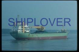 diapositive authentique cargo ANITA SMITH en 1984 (r�f. D3993) - ship 35 mm photo slide - bateau/ship/schiff