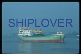 diapositive authentique cargo ANITA SMITH en 1984 (r�f. D3994) - ship 35 mm photo slide - bateau/ship/schiff