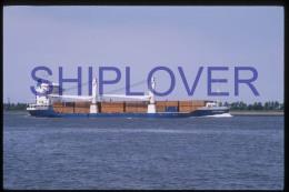 diapositive authentique cargo EXPLORER en 1988 (r�f. D3995) - ship 35 mm photo slide - bateau/ship/schiff